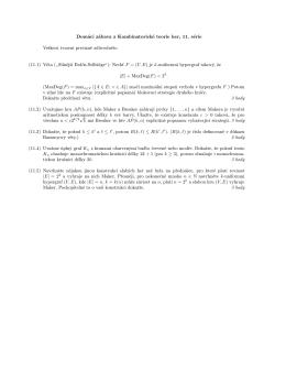 Domácí zábava z Kombinatorické teorie her, 11. série Veškerá
