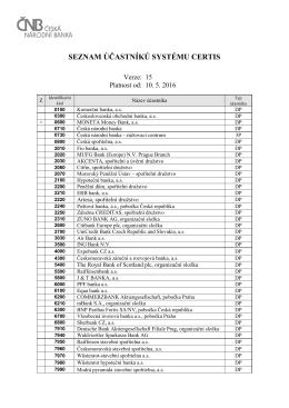 pdf, 115 kB - Česká národní banka