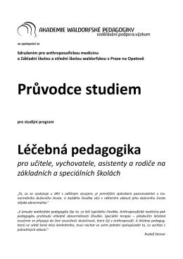 Průvodce studiem - Akademie waldorfské pedagogiky