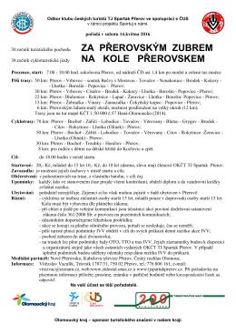 více - Odbor vysokohorské turistiky KČT TJ Spartak Přerov