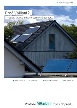 prospekty Prospekt solární systémy auroSTEP plus, Solar