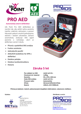 PRO AED - Promos spol. s ro