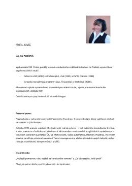 profil v PDF