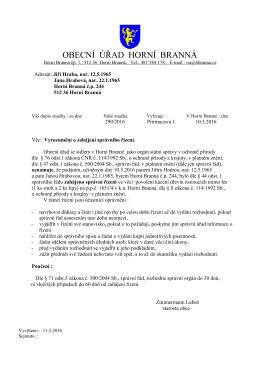 Dohoda s dotčeným správním úřadem (DSÚ