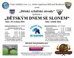 Plakát DRZ+DD 2016 - MO Bělá pod Bezdězem
