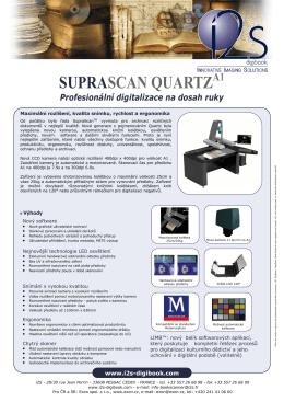 i2S Digibook Suprascan Quartz A1 datasheet
