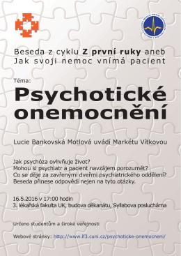 Psychotické onemocnění