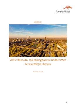 2015: Rekordní rok ekologizace a modernizace