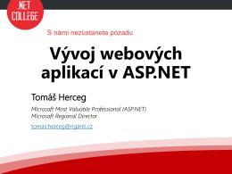 Vývoj webových aplikací v ASP.NET
