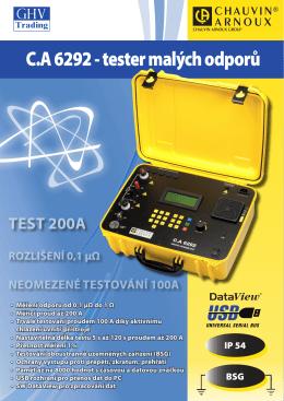 CA 6292 - GHV Trading
