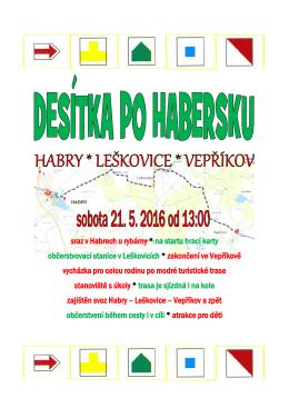 Pozvánka na Desítku po Habersku