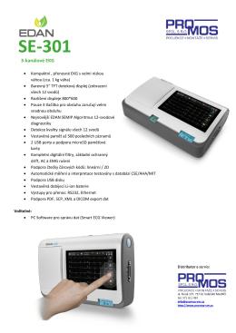 SE-301 - Promos spol. s ro