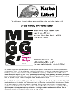 Meggs` History of Graphic Design