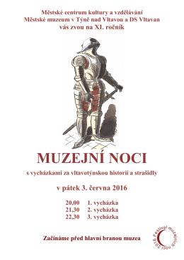 Muzejní noc 2016 - Týn nad Vltavou