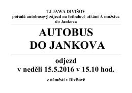 Program valné hromady Tělovýchovné jednoty JAWA Divišov