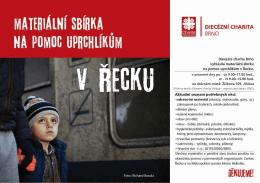 Plakát ke stažení - Oblastní charita Jihlava