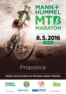 Propozice - mtb maraton