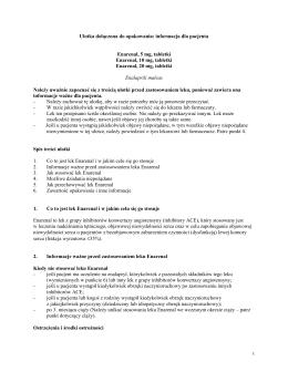 Ulotka dołączona do opakowania: informacja dla pacjenta Enarenal