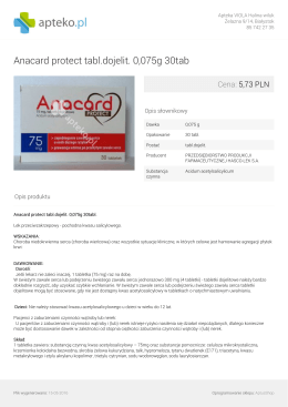 Anacard protect tabl.dojelit. 0075g 30tab