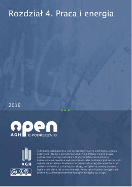 Rozdział 4. Praca i energia - Open AGH e-podręczniki