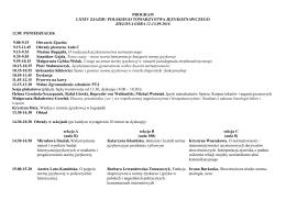 Program LXXIV Zjazdu Polskiego Towarzystwa Językoznawczego