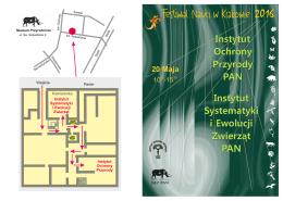 Program - Instytut Systematyki i Ewolucji Zwierząt PAN