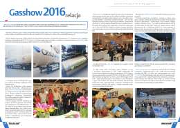 Targi Gasshow 2016- relacja