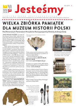 Jesteśmymaj 2016 - Muzeum Historii Polski