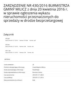 Wersja PDF - Metryka