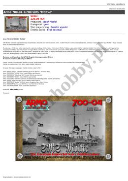 "Armo 700-04 1/700 SMS ""Moltke"""