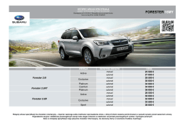 forester 16my