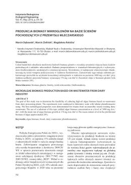 PDF, 770.25 kB - Inżynieria Ekologiczna