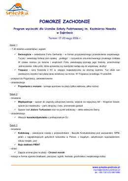 SP Dąbrówka - Pomorze Zachodnie