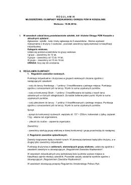 Regulamin pdf