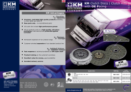 KM Clutch Discs | Clutch Kits with OE Facing - Profi