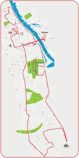 Mapa - Stadion Narodowy