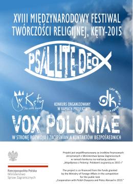 Psallite Deo - Dom Kultury w Kętach