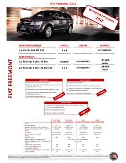 Cennik 2015 - Fiat - katalogi i cenniki