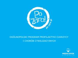 Ogólnopolski Program Profilaktyki Cukrzycy i Chorób