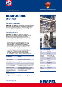 hempacore one 43600