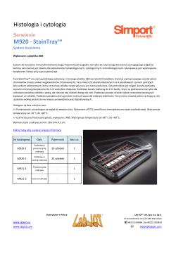 Histologia i cytologia M920