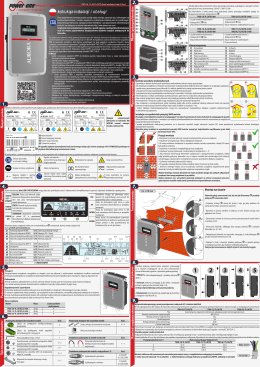 Instrukcja obsługi ABB TRIO-5.8-TL-OUTD