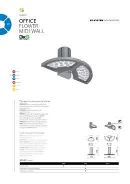 VIEW Office Flower Midi Wall DATASHEET