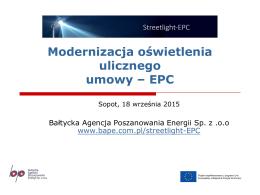 ESCO - Pomorskie Dni Energii 2015