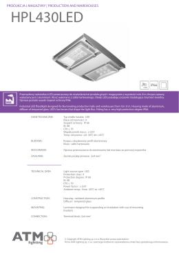 HPL430LED - ATM Lighting