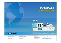 Katalog wtryskarek Jon Wai serii SE
