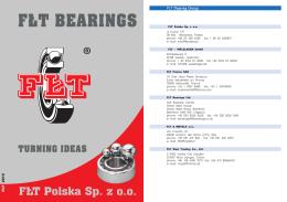 FLT Bearing Group - FŁT Polska Sp. z oo
