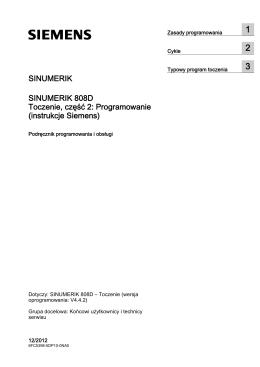 instrukcje Siemens - Siemens Industry Online Support