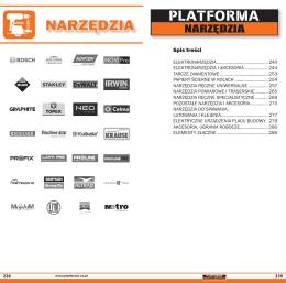 NARZĘDZIA - Platforma Dla Remontu i Budowy