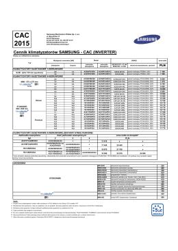 Cennik SAC 2015 - Eko